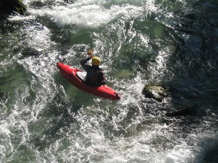 canoë-kayak sur la siagne